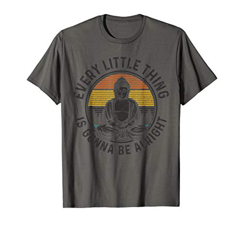 Buddha Vintage Retro Spiritual Quote Buddhism Yogi Yoga Gift T-Shirt