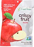 Crispy Green Fruit Snacks 0.36 Ounce - Freeze Dried Crispy Apple -Pack of 12