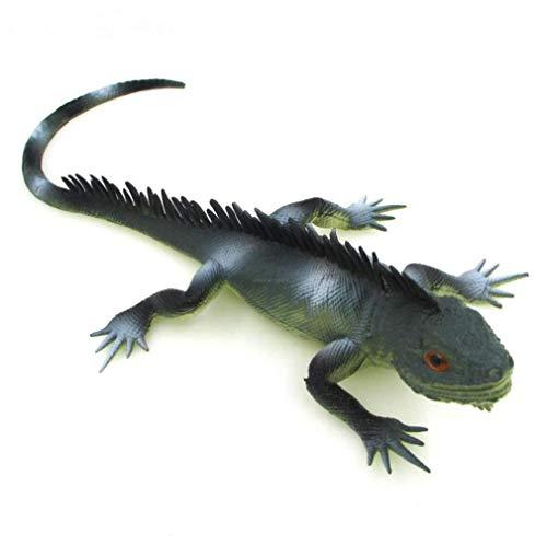 KAPR Simulado Todo Halloween Juguete Camaleón Lagarto Gecko Reptile Reptile Animal Modelo Niño Regalo Juguete