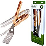 Aussie 1576.9.001 Tool Set for Grills and Smokers (3 Piece)