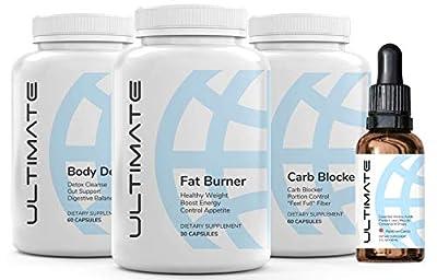 Ultimate Transformation Weight Loss Keto Drops for Women & Men (2 Fl oz, 1 Bottle) - Rainbow Candy Flavor …