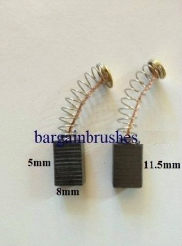 Carbon Brushes to fit challenge hammer drill 600w 710w argos PDI13YS E36