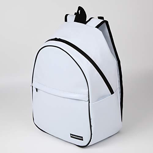 レディース防災リュック 女性用の非常持出袋(単品) 防炎防水素材 日本製 (ホワイト)