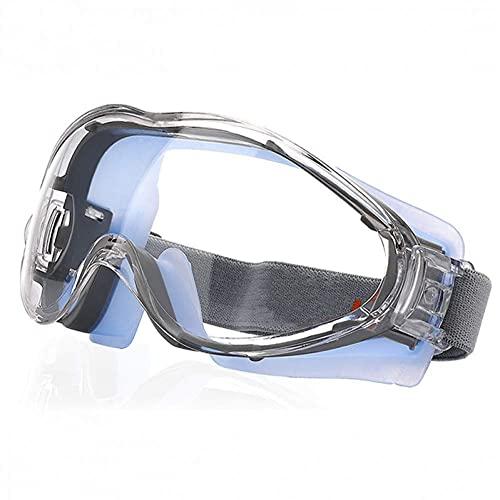 Anti Niebla Gafas de seguridad - Gafas de seguridad de protección resistente a los scratientes for los hombres ocultos afectados con gafas de trabajo protectoras selladas sobre espectáculos for Bricol