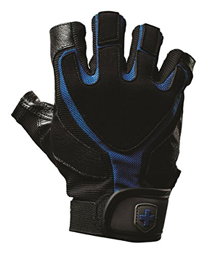 Harbinger Herren 's Training Grip Gewichtheben Handschuhe , Schwarz - Blau M