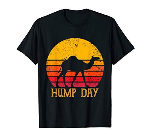 Retro vintage hump day camel tshirt T-Shirt