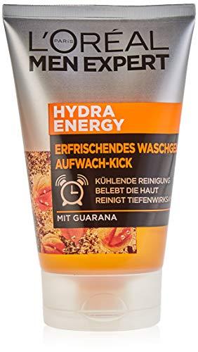 Gel de limpieza L'Oréal Men Expert Hydra Energy para despertar, 100 ml