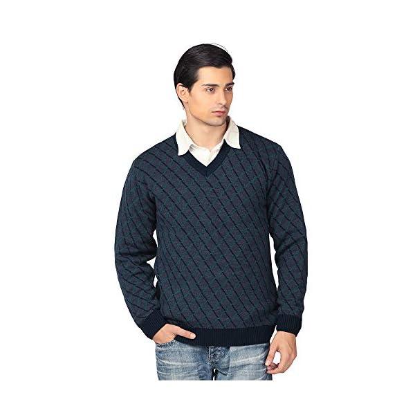 aarbee Men's Blended V Neck Sweater 1 41YIjs9ibqL. SL500