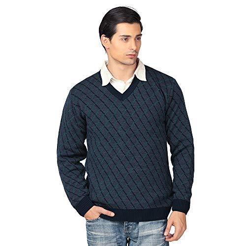 aarbee Men's Blended V Neck Sweater