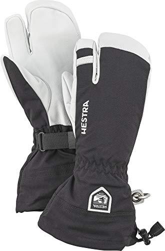 Army Leather Heli 3 Gants de ski à 3 doigts pour...