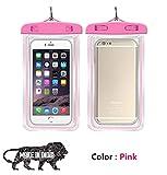 IW Infinity Wiz Universal Waterproof Pouch Cellphone Dry Bag Case (Pink) - Pixel