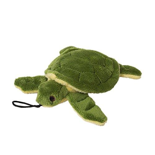 Fluff & Tuff Shelley die Schildkröte, Hundespielzeug aus Plüsch