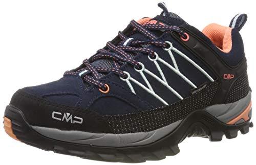 CMP Damen Rigel Low Wmn Shoes Wp Trekking-& Wanderhalbschuhe, Blau (B.Blue-Giada-Peach 92ad), 40 EU