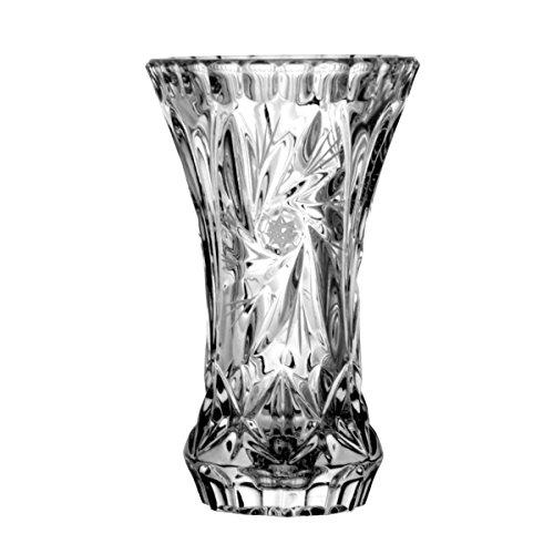 Crystaljulia vaas, kristal, 13 cm, 8 x 8 x 13 cm