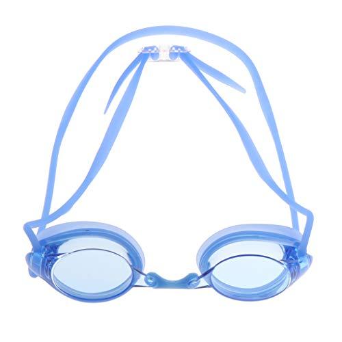 freneci PC Racing Gafas de Natación Nadador Gafas Impermeables Equipo de Gafas - Azul