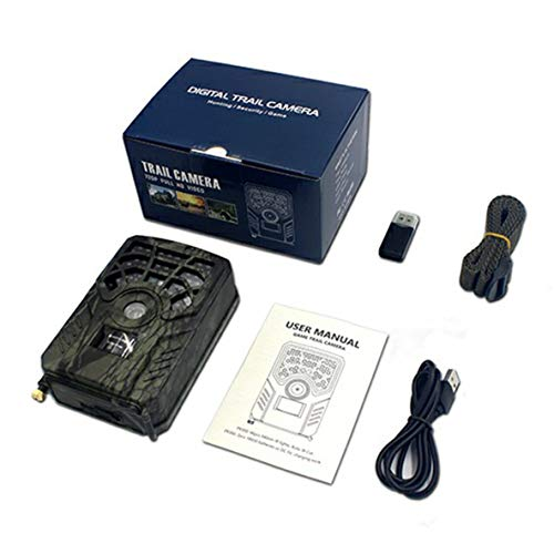 ACEHE PR300A Wildlife Trail Camera 1080P Scouting Infrared Night Vision Cámara de Caza al Aire Libre portátil a Prueba de Agua