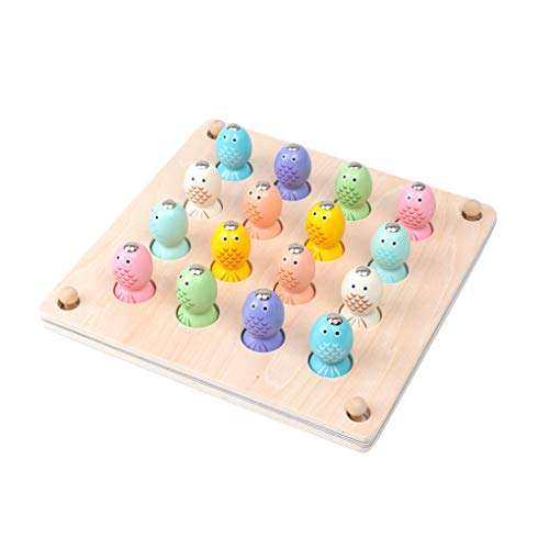 Floridivy Baby Vissen Toy Set Kinderen Cartoon Sea Animal Memory Schaken Toys Peuters Fish vangspel Supplies