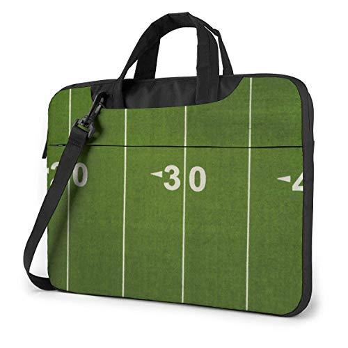 Football Yard LINE Laptop-Tasche Laptop-Umhängetasche 15,6 Zoll, Laptop-Hülle Tragetasche mit Riemen