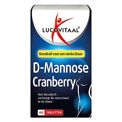 Lucovitaal Tabletten Voedingssupplementen D-Mannose Cranberry