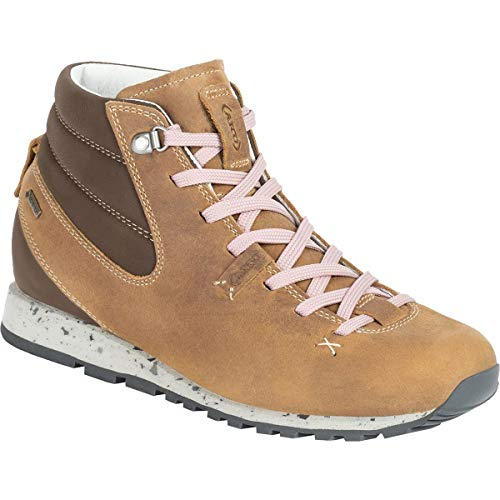 AKU Damen Bellamont Gaia Mid FG GTX Schuhe, beige-pink, UK 6