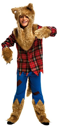 My Other Me - Disfraz de hombre lobo, para niños de 5-6 años (Viving Costumes MOM00117)