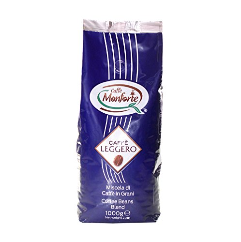 """Caffè Monforte """"Leggero"""" ganze Bohnen, 1er Pack (1 x 1 kg)"""