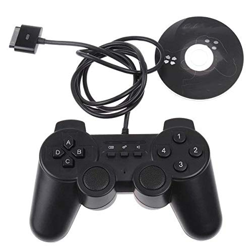 Zhengowen Gamepad Manette de Jeu Manette Vibration Gamepad for iPod Touch iPhone Wireless Gamepad (Couleur : Black, Size : One Size)