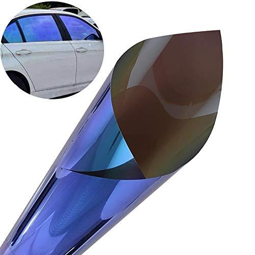 Romantische nacht 99 auto venster film glanzend kameleon auto raam film gedraaid kleur auto raam tint sticker folie zonnebescherming auto Styling ### 50 * 300cm