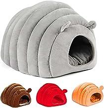 JZTOL Semi-ingesloten kat huis stijl vier seizoenen warm huisdier nest ingesloten villa Teddy hond huis huisdier nest kat ...