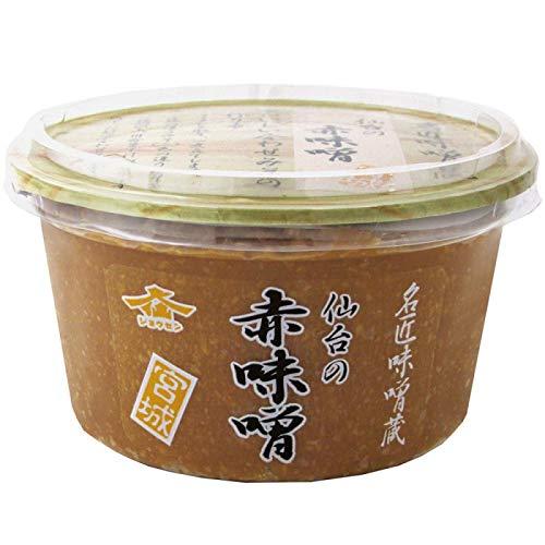 仙台味噌醤油 仙台の赤味噌 300g 6個セット