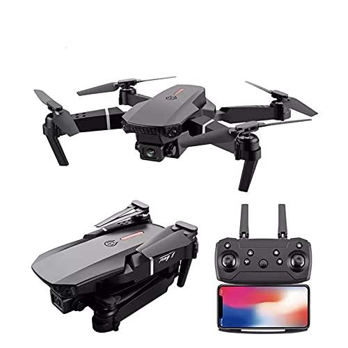 Mini Drone Pieghevole con Doppia Fotocamera 4K HD WiFi FPV Gesto Rotazione ad Alta velocità Foto/Video App Controllo Altezza Manutenzione Volo Balistico per Adulti Bambini