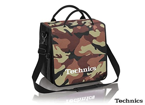Technics BackBag Tasche Camouflage-Braun/Weiß
