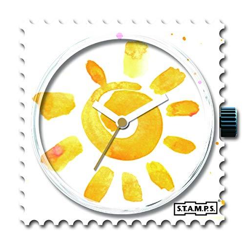 Stamps Femme Uhr Analogique Quartz mit Plastique Armband 105402