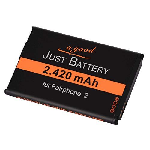 JuBaTec 2420 mAh original Akku für Fairphone 2