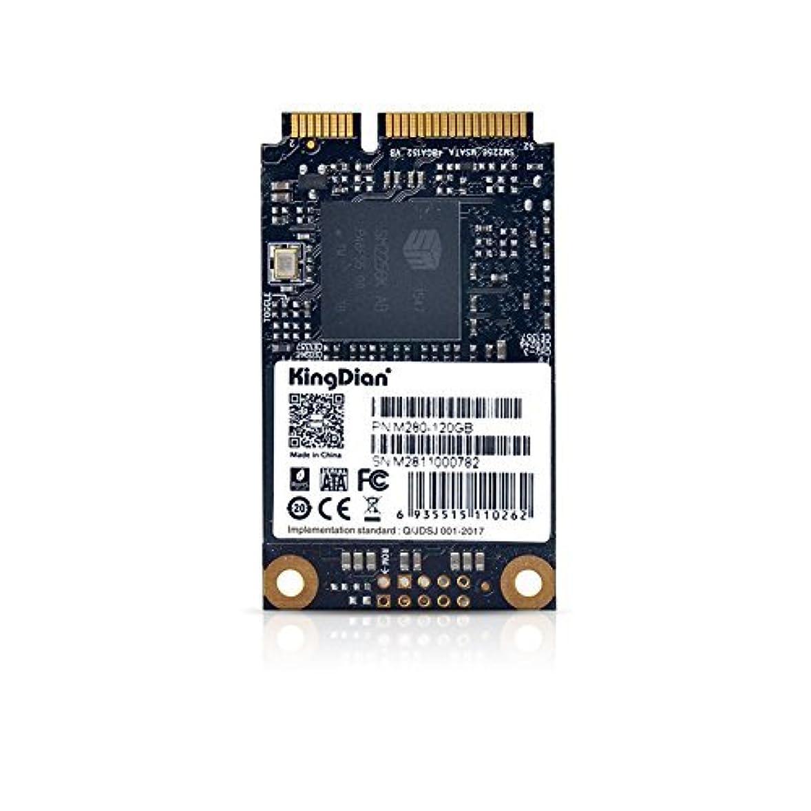 チョコレート拒否徹底的にKingDian mSATA Mini PCIE 120GB SSD Solid State Drive (30mm50mm) (M280 120GB) [並行輸入品]