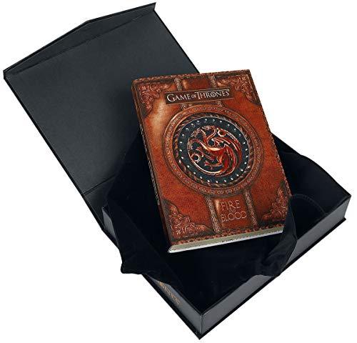 Game of Thrones Offizielles Lizenziertes Targaryen Fire and Blood Small Journal