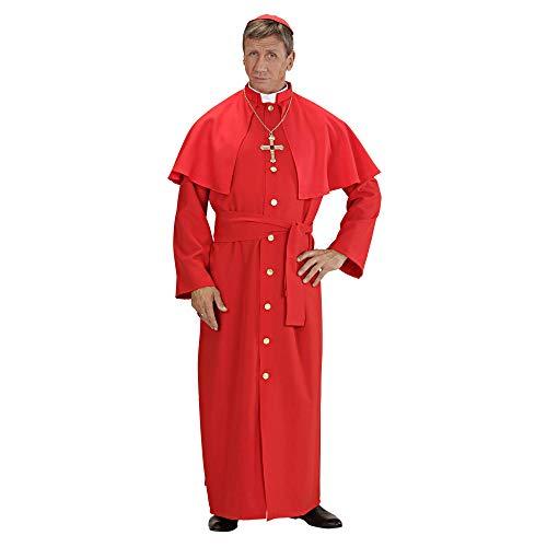 WIDMANN Cardinale Rosso Tunica Pellegrina Cintura Papalina Costumi Completo 801