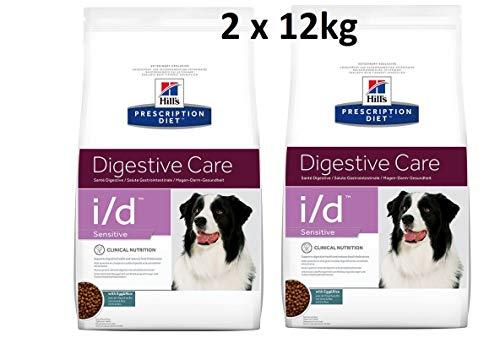 Hills Prescription Diet i/d Sensitive: 2 x 12 kg Digestive Care Comida para perros con pollo