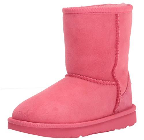 UGG unisex child Bailey Button Ii Boot, Black, 2 Little Kid US