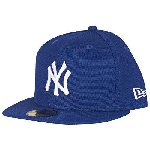 New Era Cap - Basic New York Yankees royal/weiß 7 7/8