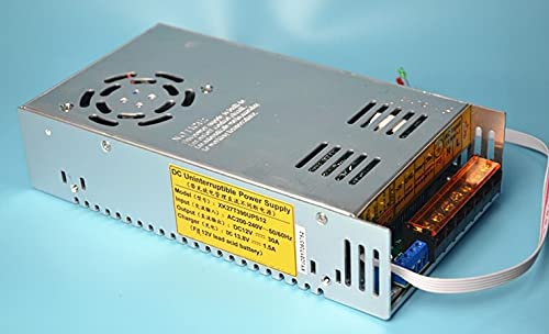 li's 350W UPS charge function switching power supply 12v 30a 350W battery charger 13.8V (Color : Lithium battery)
