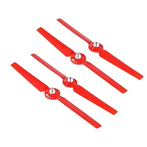 Maquer Accessori per droni Eliche per droni 4Pcs Eliche Adatte per Yuneec Typhoon Q500 4K Drone Puntelli autobloccanti a sgancio rapido Ricambi per Lame di Ricambio (Colore: Rosso) (Colore: Bianco)