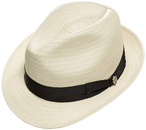 Kastori Strohhut Beach Havanna Bogart Herren Damen Edel & Elegant »Sevin« Gr.L