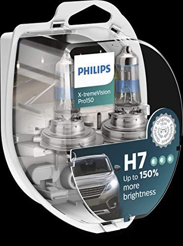 Philips H7 X-tremeVision Pro150 55 Watt 12 Volt PX26d 12972XVPS2 (2 Stück)