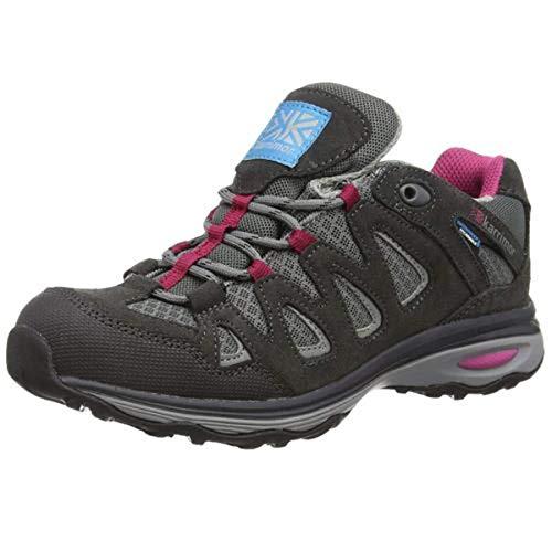 Karrimor Isla Weathertite, damskie buty trekkingowe i turystyczne, Czarny C różowy, 37 EU