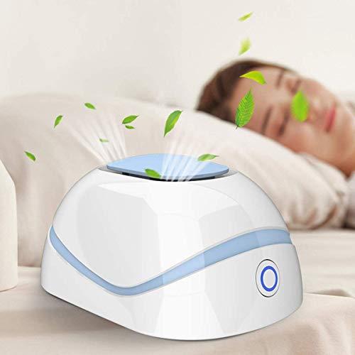 Landnics Generador de ozono eléctrico purificador de Aire, esterilizador portátil, purificador de Aire con USB, eliminador de olores y bacterias para el hogar, Oficina, Mascotas