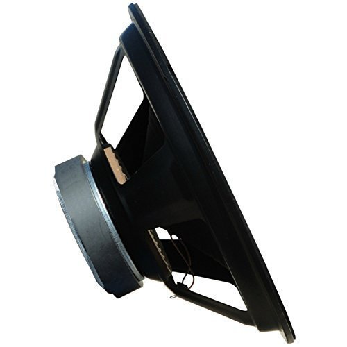 WEB W-104 woofer diffusore medio basso 25,00 cm 250 mm 10' 75 watt rms 150 watt max impedenza 4 ohm porte portiere sportelli pannello auto, 1 pezzo
