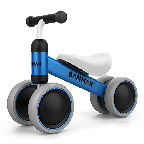 Bammax Vélo Bébé Draisienne pour Bébé de 1 an-18 Mois, Vélo Enfant sans Pédales Jouet...