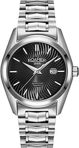 Roamer Reloj Analógico para Mujer de Cuarzo con Correa en Acero Inoxidable 203844 41 55 20