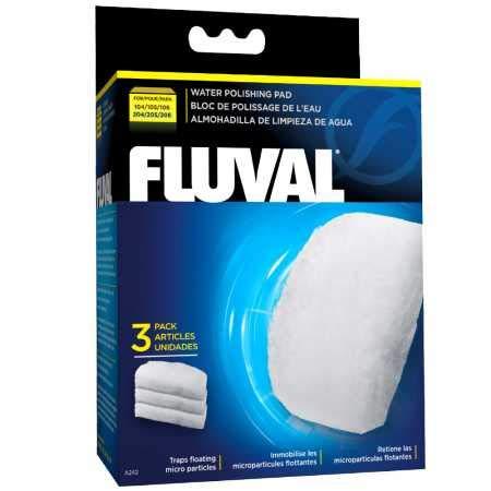 Fluval A242 Feinfilterpads für Süß- und Meerwasser - Menge 3er-Pack